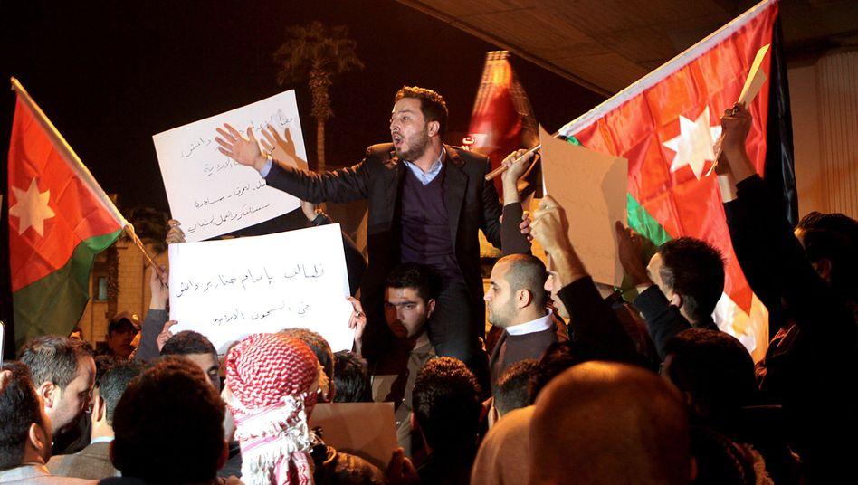 Demonstration in Amman: Jordanier fordern Rache für den grausamen Mord