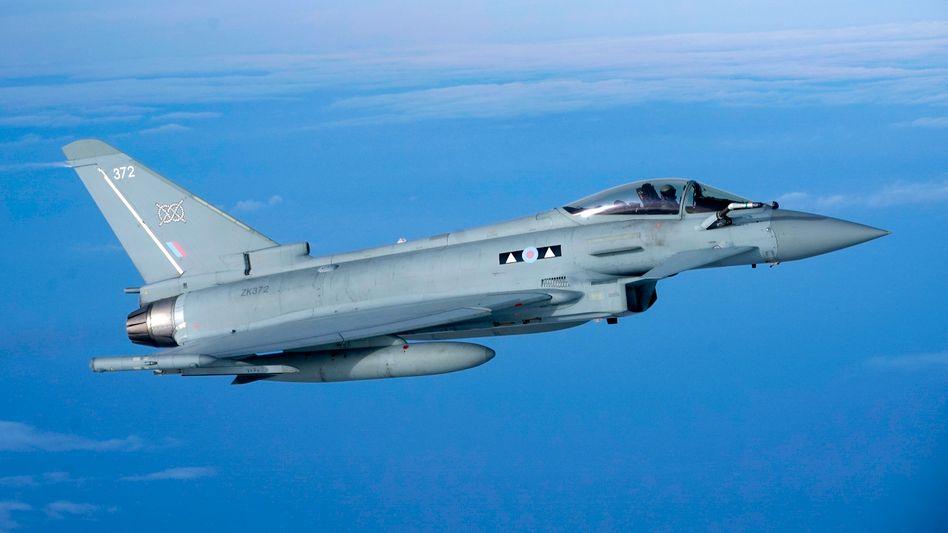 Ein Vorgänger des neuen Kampfjet-Modells: der Eurofighter (Foto vom Februar 2019)