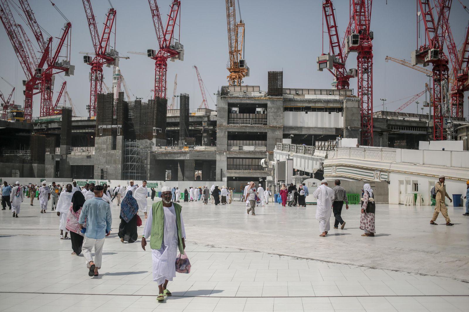 Saudi Arabien / Mecca / Binladin
