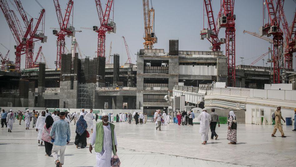 Die Große Moschee in Mekka