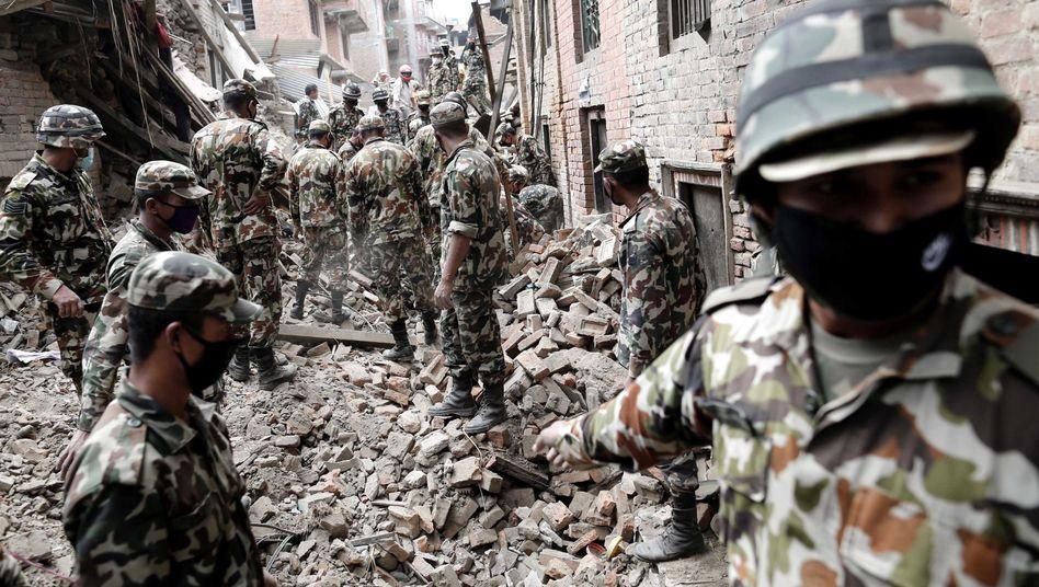 Nepal: So läuft die Hilfe für die Erdbeben-Opfer