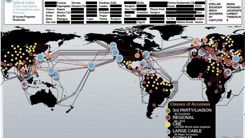 NSA-Präsentation: Angriffsmethoden wie Cyber-Gangster