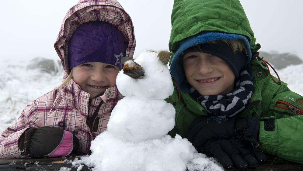 Brrrrr: Frost und Schnee in Deutschland