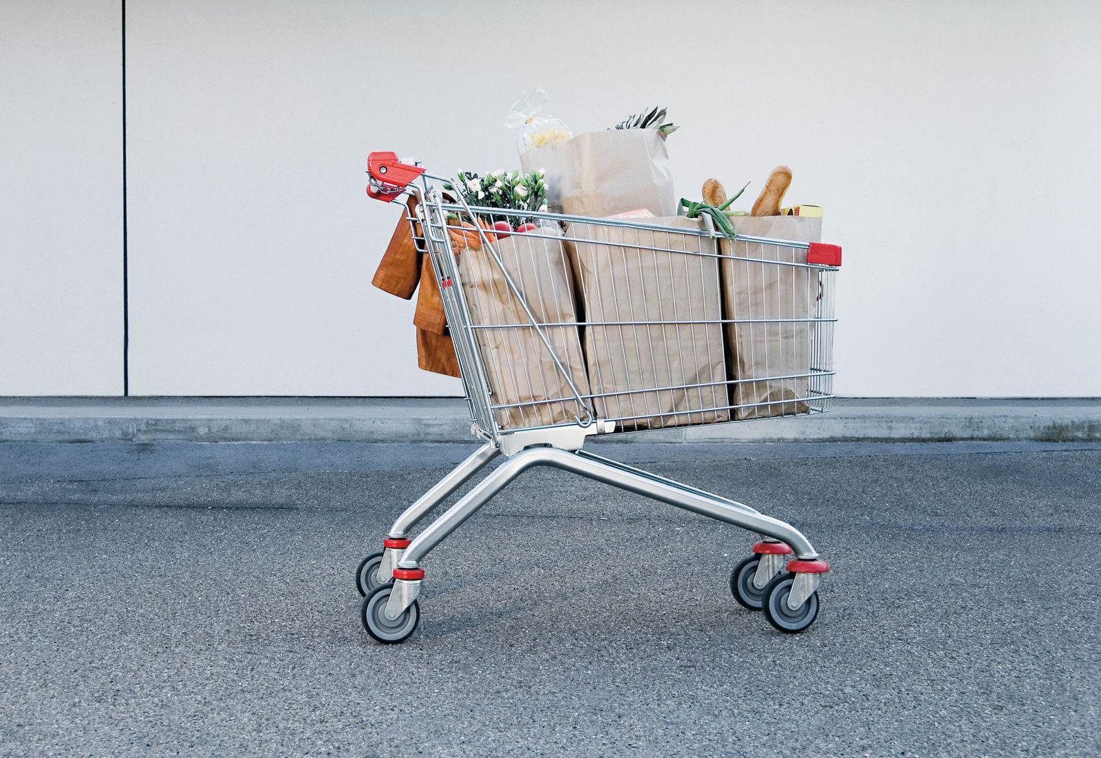 EINMALIGE VERWENDUNG Lebensmittel Verschwendung