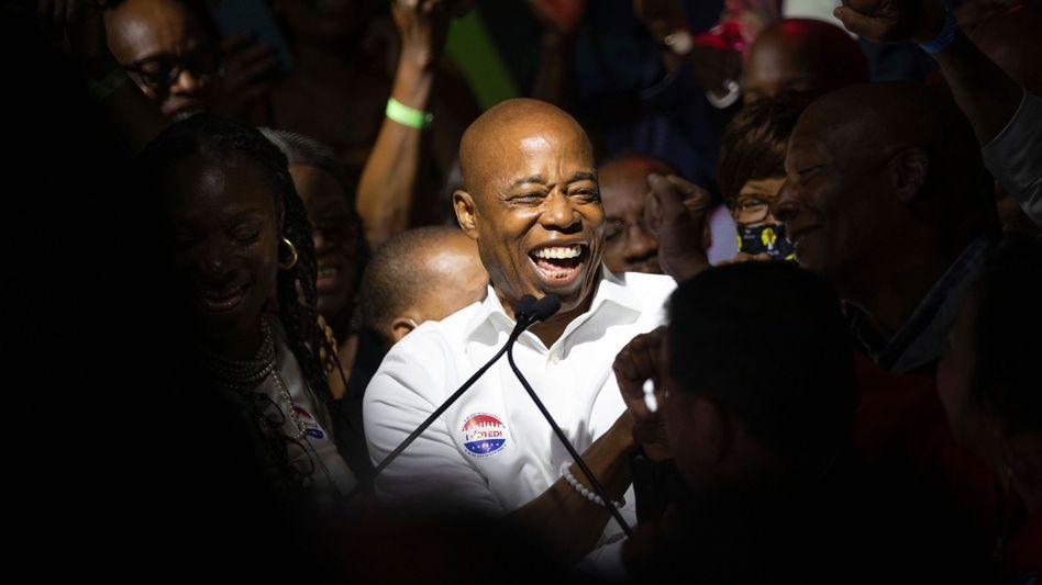Bürgermeisterwahl New York: Ex-Polizist als Signal für die