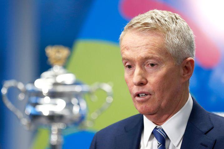Craig Tiley, Turnierdirektor der Australian Open