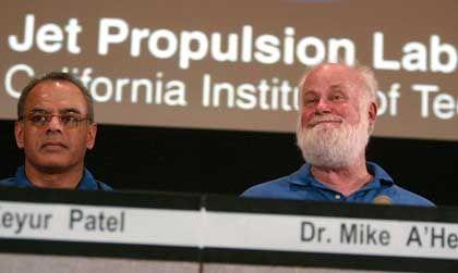 """Nasa-Forscher Keyur Patel, Michael A'Hearn: """"Daten bis zum Ruhestand"""""""