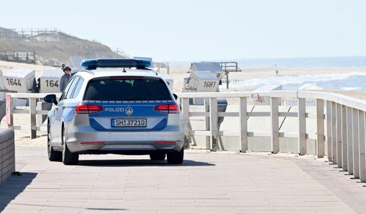 Strandpromenade in Westerland auf Sylt im April: Strikte Zugangsbeschränkungen sorgten für ungewohnt leere Strände