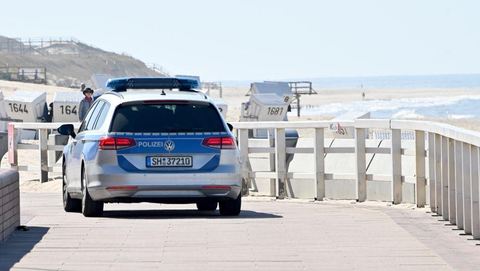 """Strandpromenade in Westerland auf Sylt: """"Bedrückende Stimmung"""""""