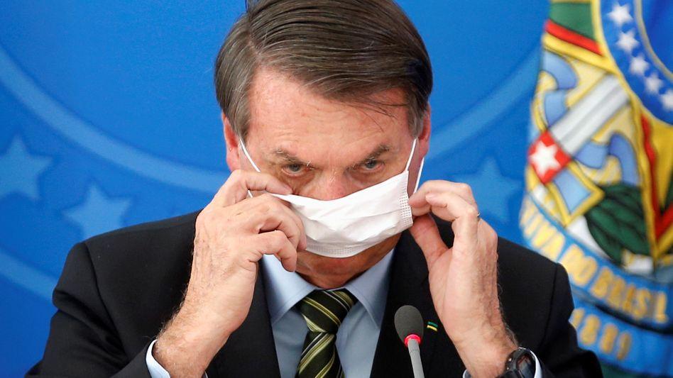 Brasilianischer Präsident Bolsonaro: Er hat von den Vorwürfen gewusst