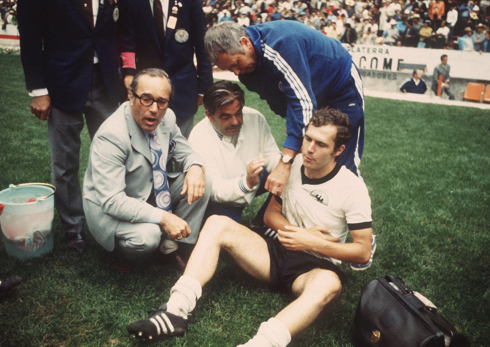 WM 1970 Deutschland - Italien im Aztekenstadion
