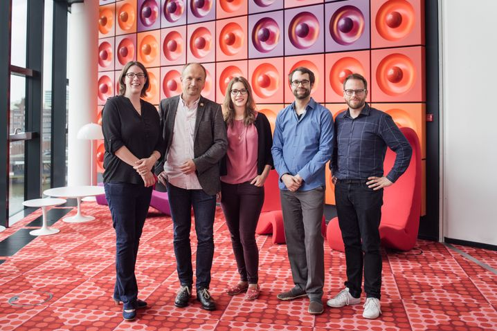 Das Netzwelt-Ressort: Horchert, Kremp, Gruber, Böhm, Reinbold