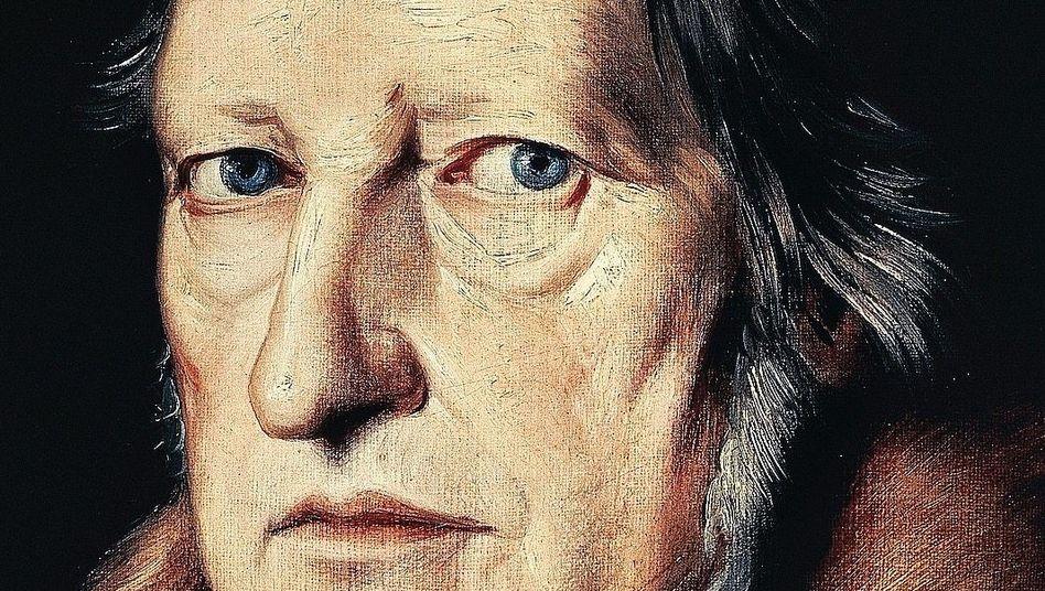 Hegel-Porträt von Jakob Schlesinger 1831