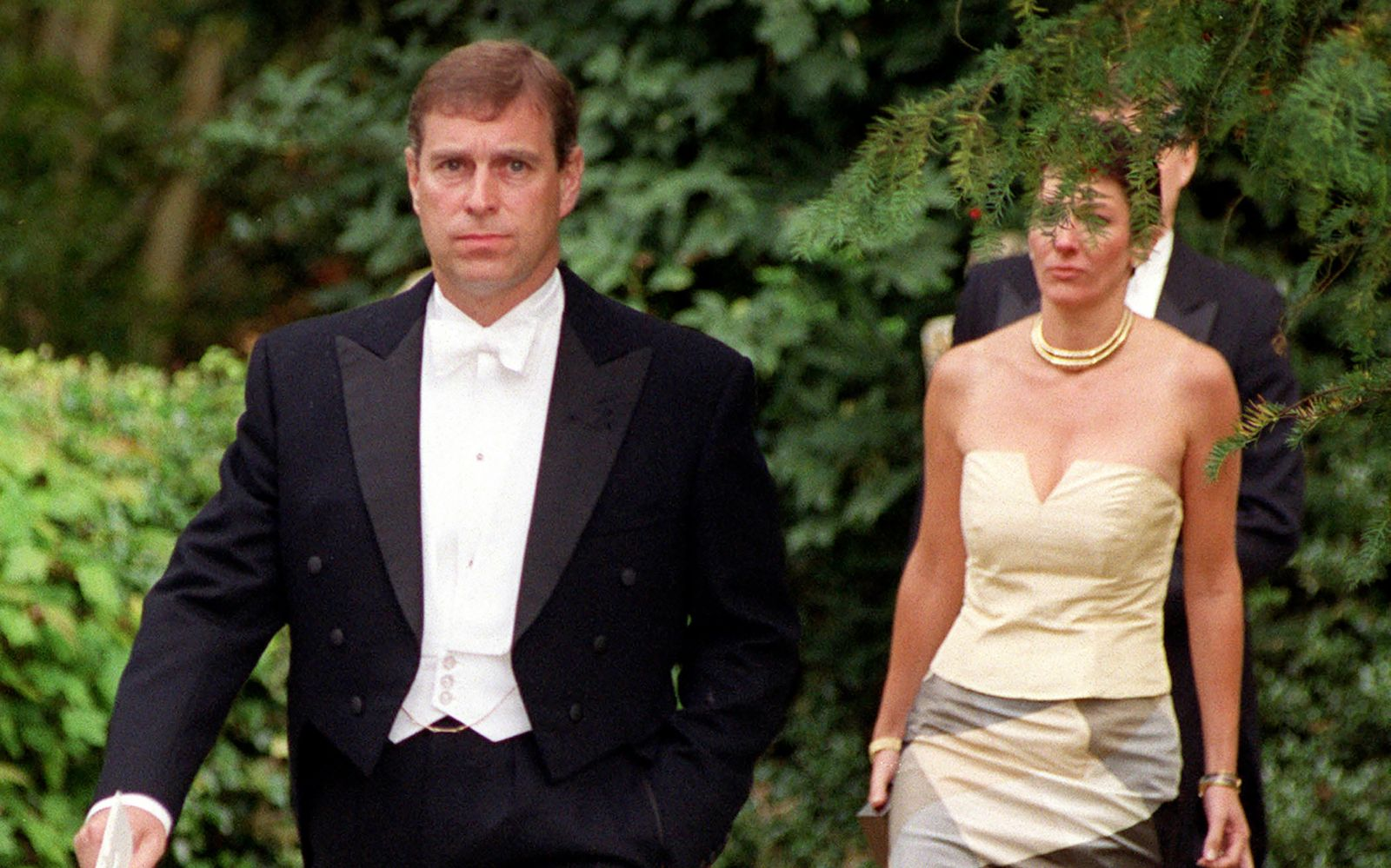 Prince Andrew & Ghislaine Maxwell