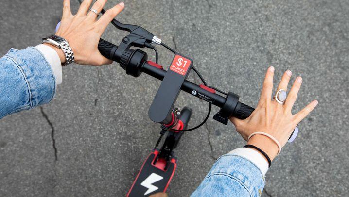 Roller-Sharing: Elektrischer Hype aus den USA