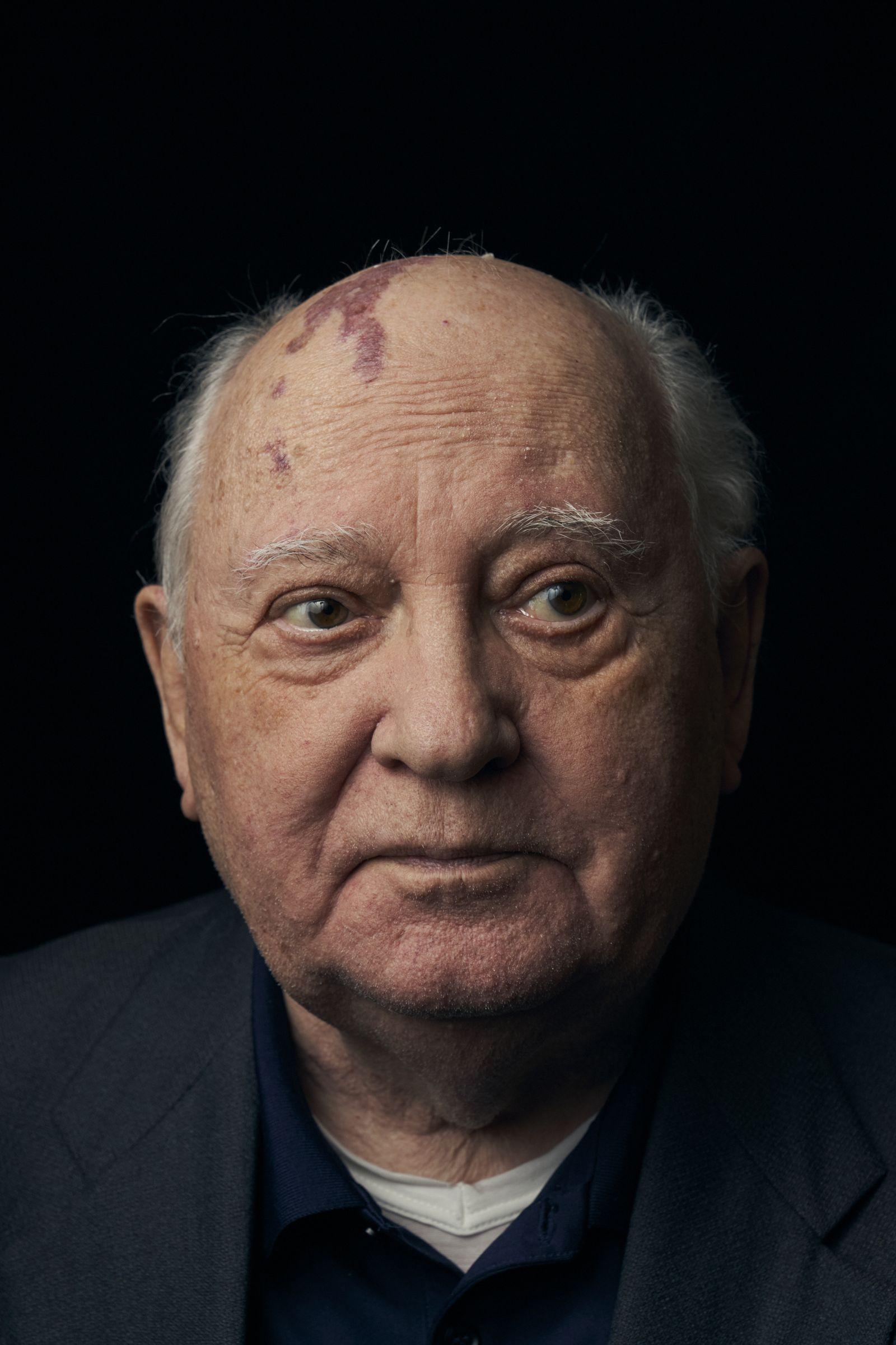 EINMALIGE VERWENDUNG SPIEGEL+ SP 46/2019, S.36 Michail Gorbatschow