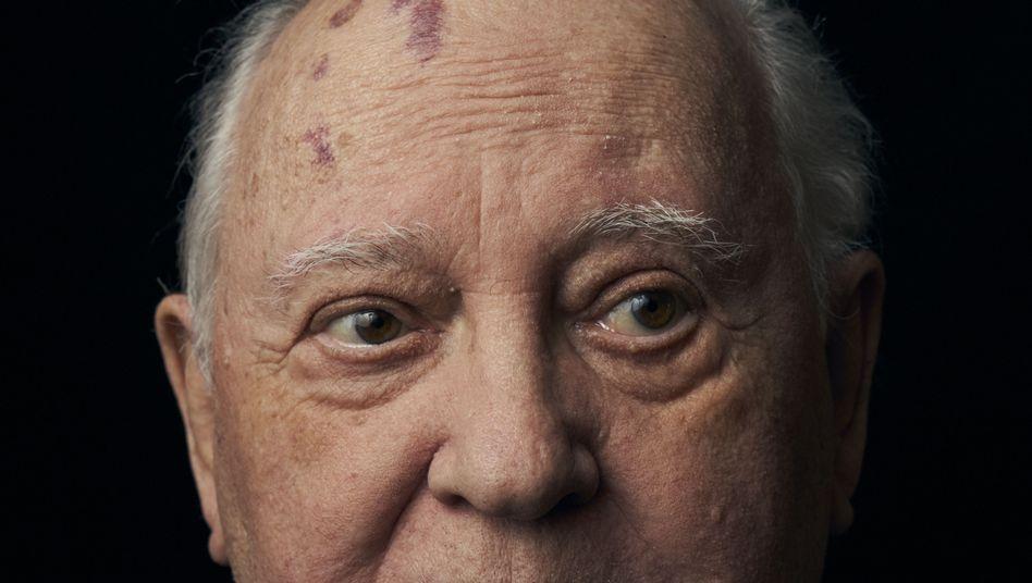 Former leader of the Soviet Union Mikhail Gorbachev
