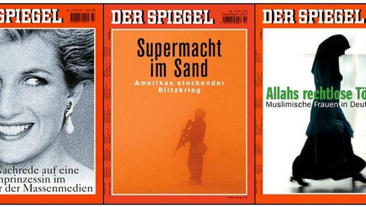 Titelbilder: SPIEGEL-Titel - die besten Cover des sechsten Jahrzehnts