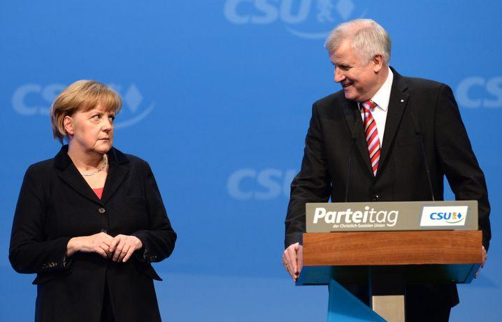 Angela Merkel, Horst Seehofer
