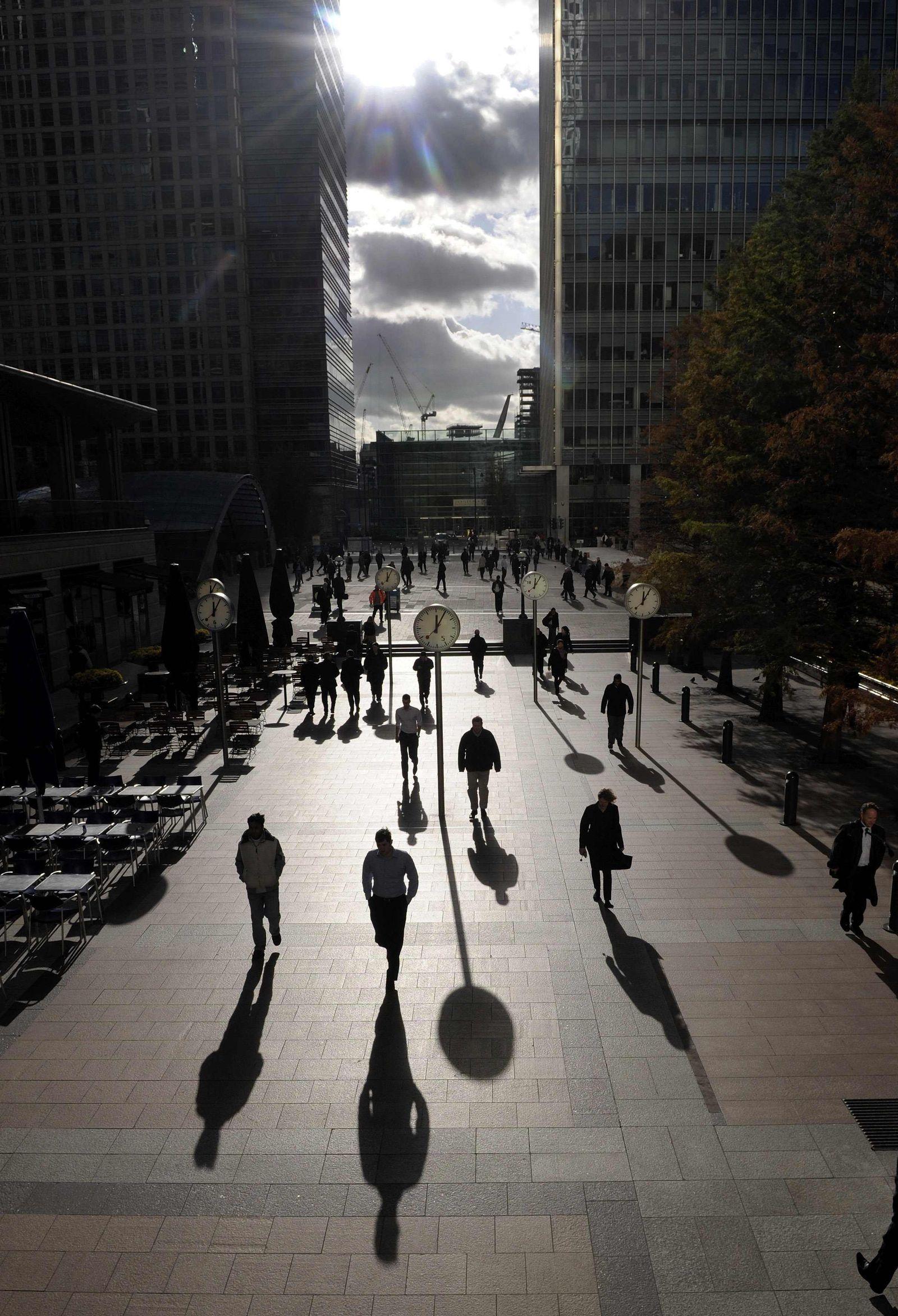 Canary Wharf / London / Finanzdistrikt