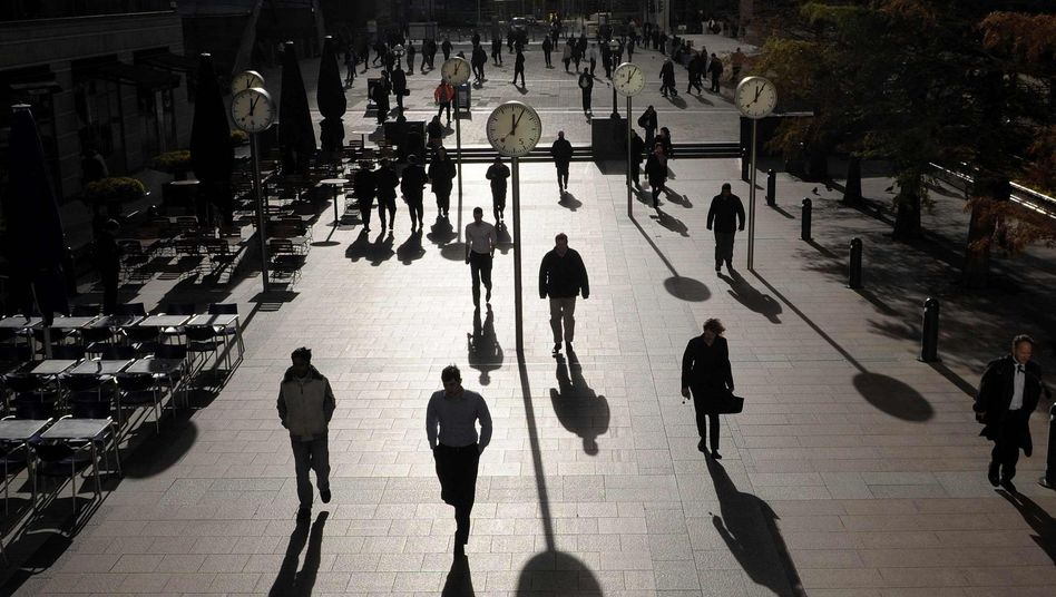 Londoner Bankenviertel: Schuften bis zum Umfallen?