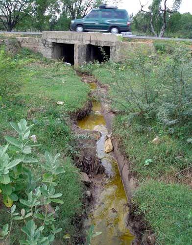 Ranipet: Giftiges Dreckwasser versickert im Boden