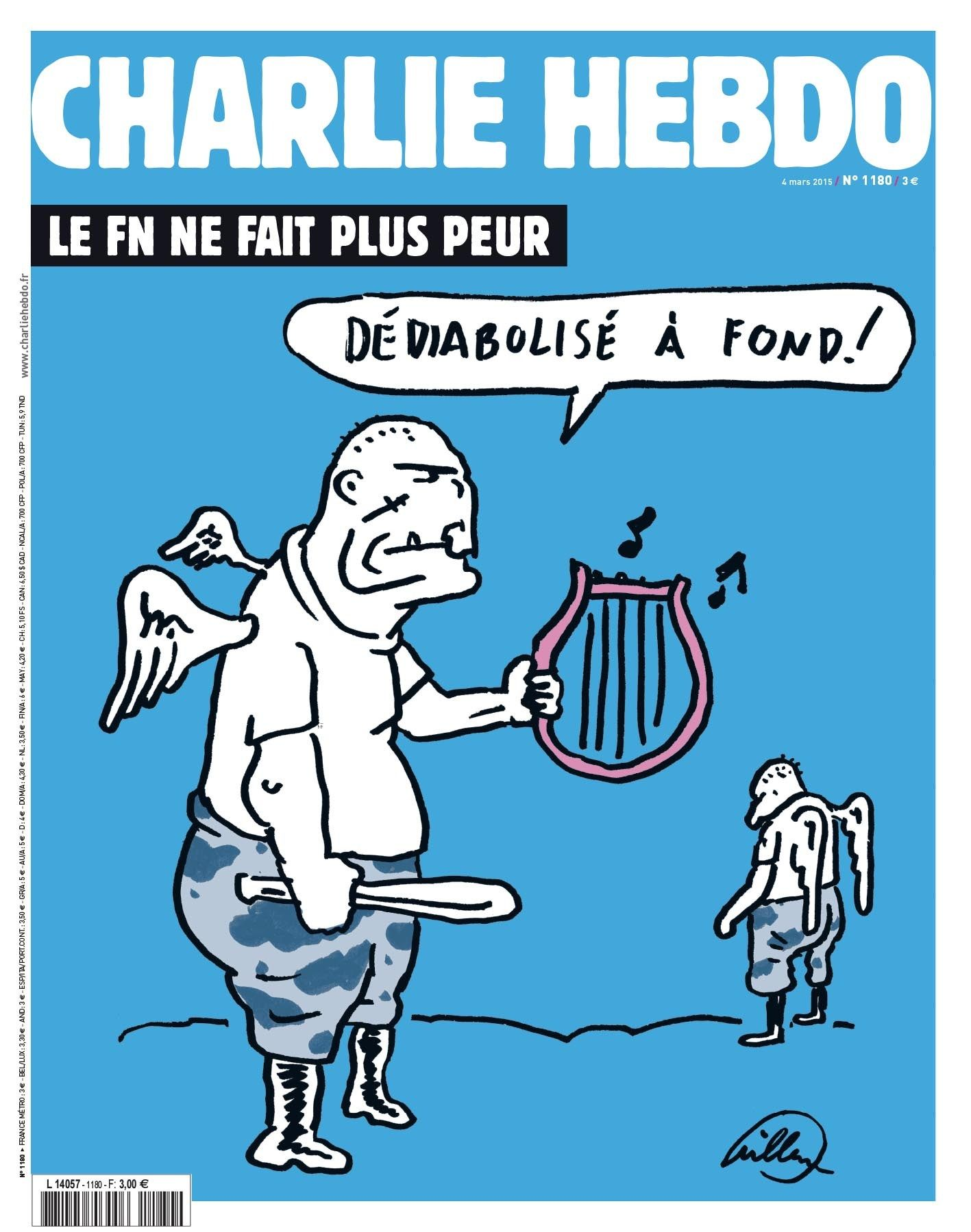 FRANCE-ATTACKS-MEDIA-CHARLIE-HEBDO