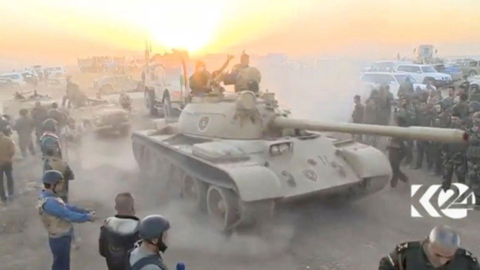 EINMALIGE VERWENDUNG Mossul / Irak