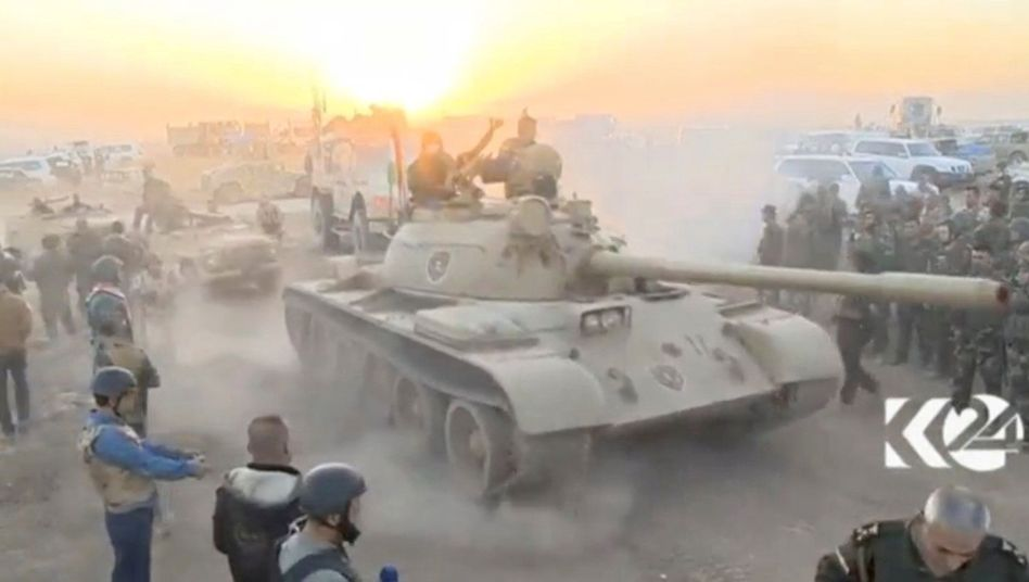 Panzer in Mossul