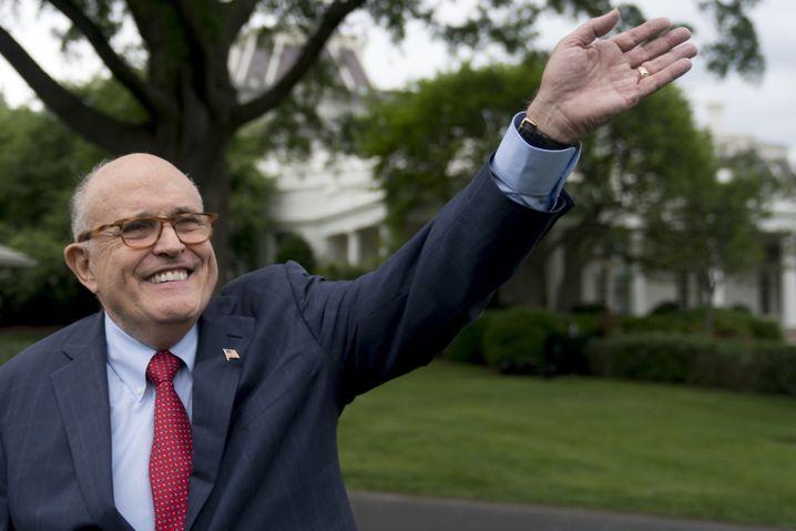 Giuliani, New Yorker Ex-Bürgermeister und Trump-Anwalt