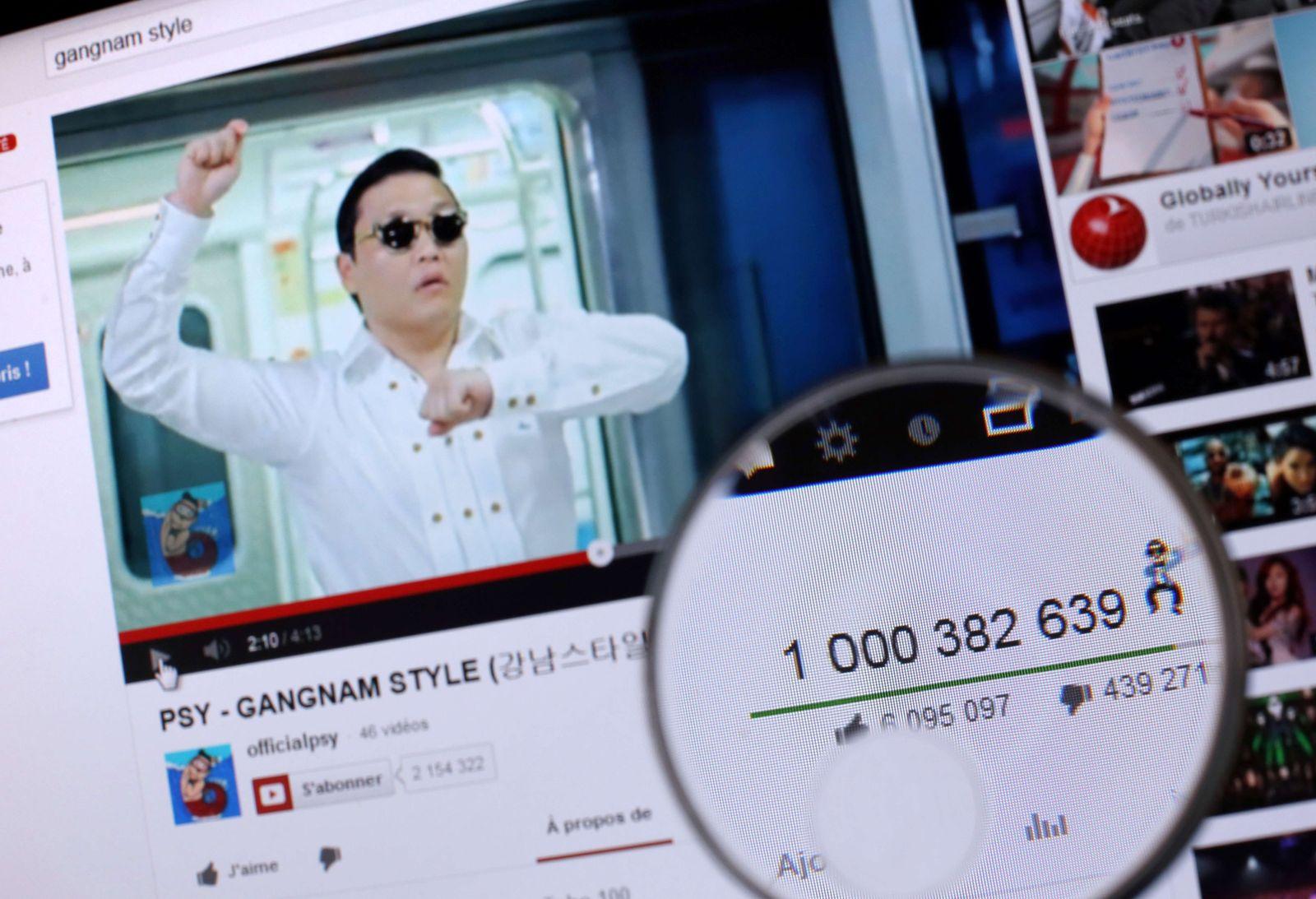 Gangnam Style Milliarde