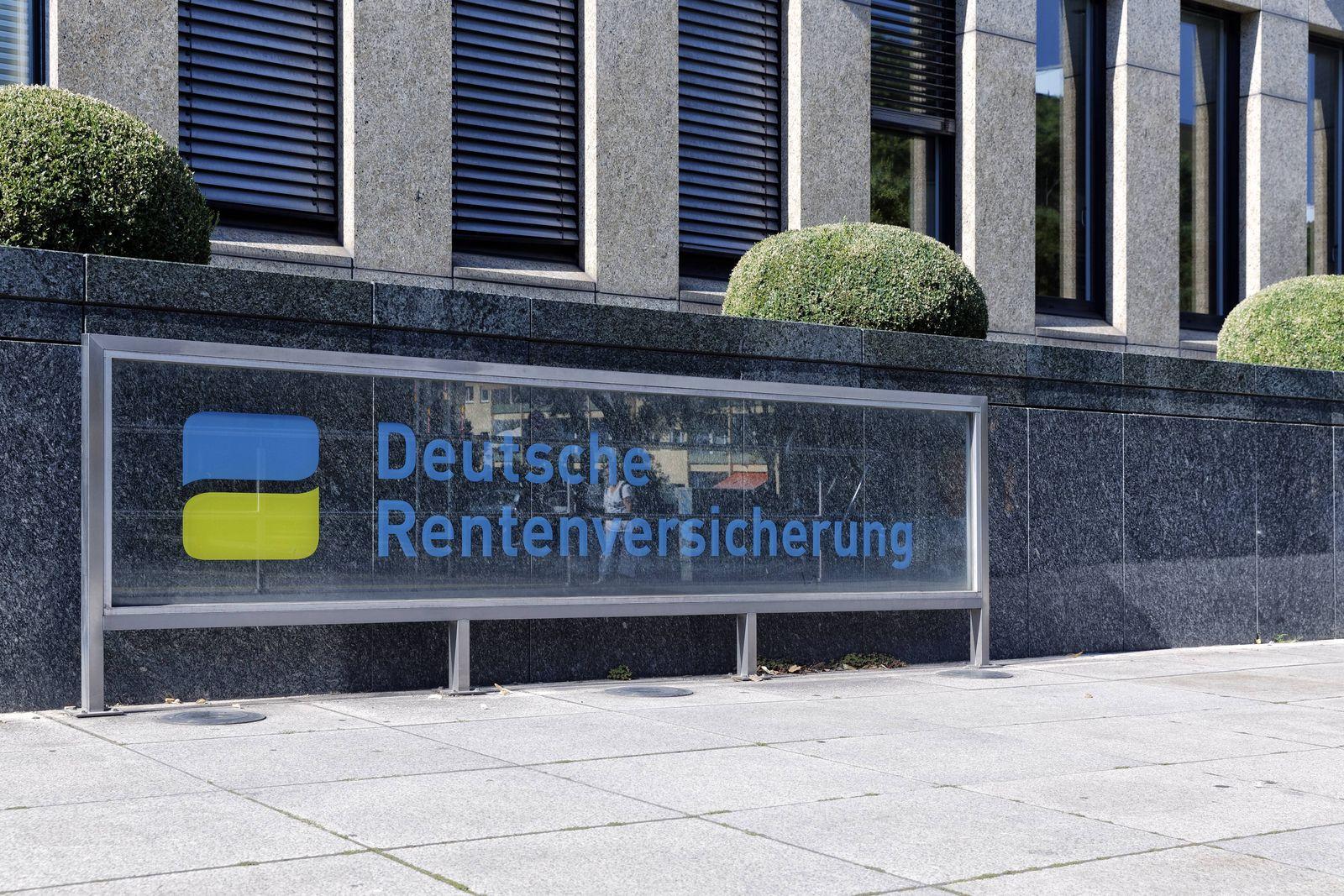 EINMALIGE VERWENDUNG Deutschen Rentenversicherung