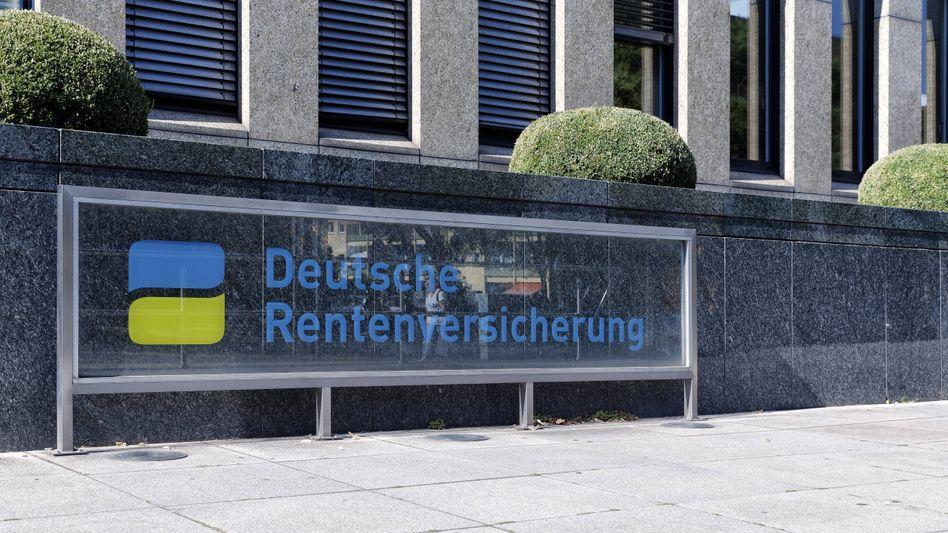 Deutschen Rentenversicherung in Berlin