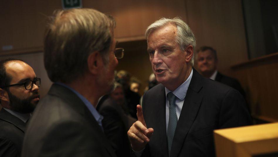 EU-Chefunterhändler Michel Barnier in Brüssel (Archiv)