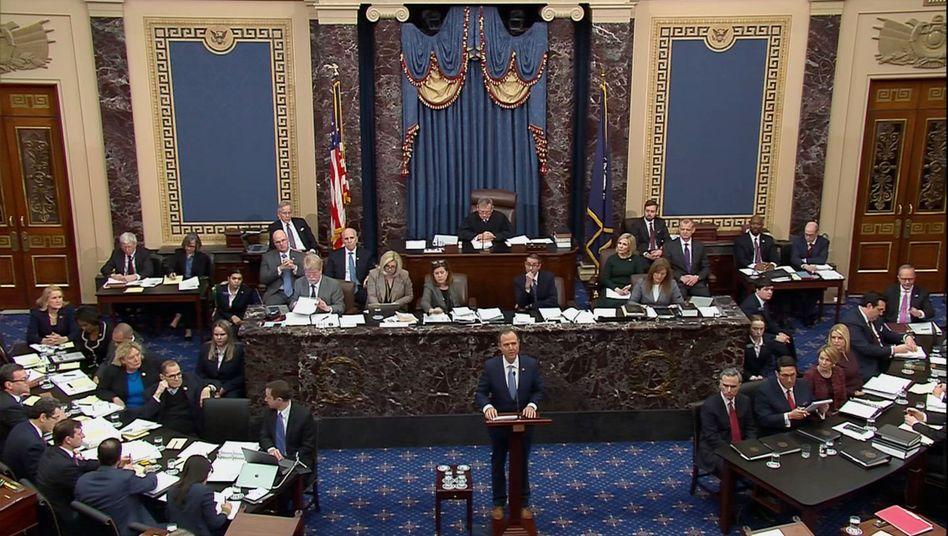 Trump-Impeachment: Zank zum Auftakt