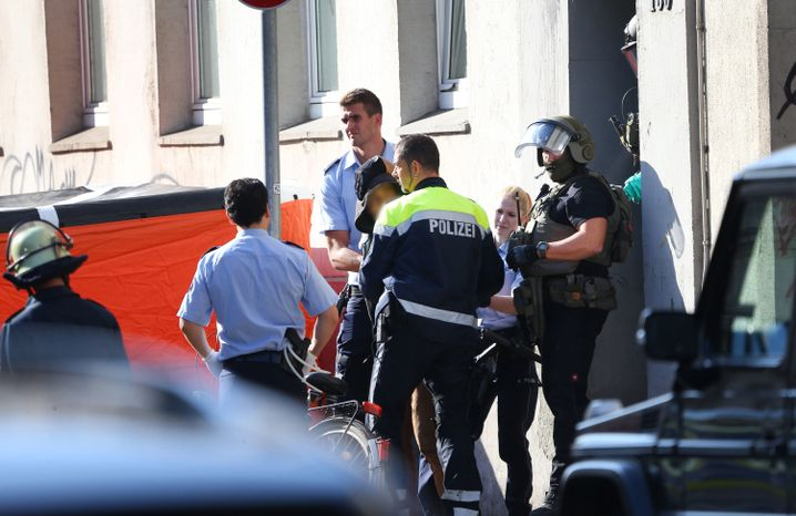 Polizeieinsatz in Krefeld (Archiv)