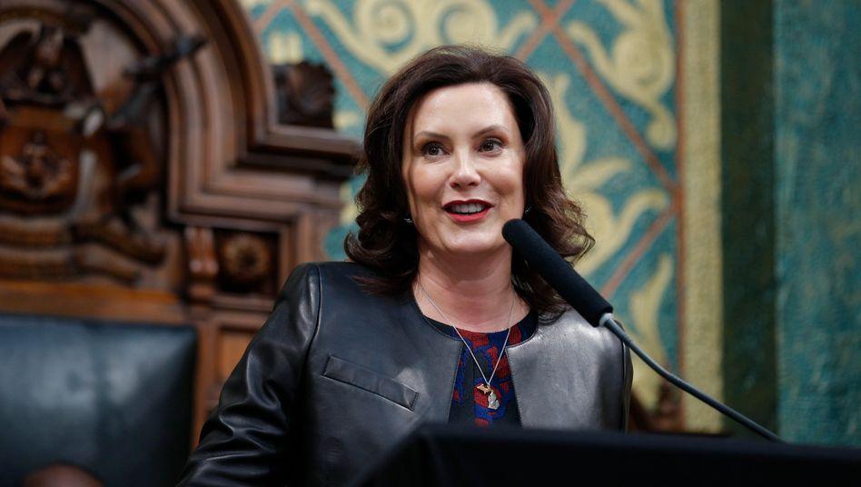 Michigans Gouverneurin Whitmer: die verdammten Straßen in Ordnung bringen