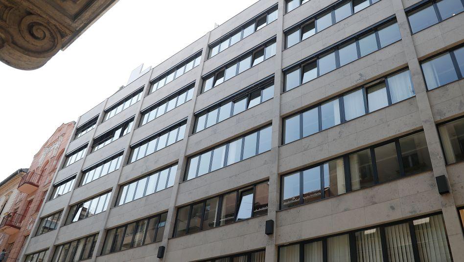 OSF-Hauptquartier in Budapest