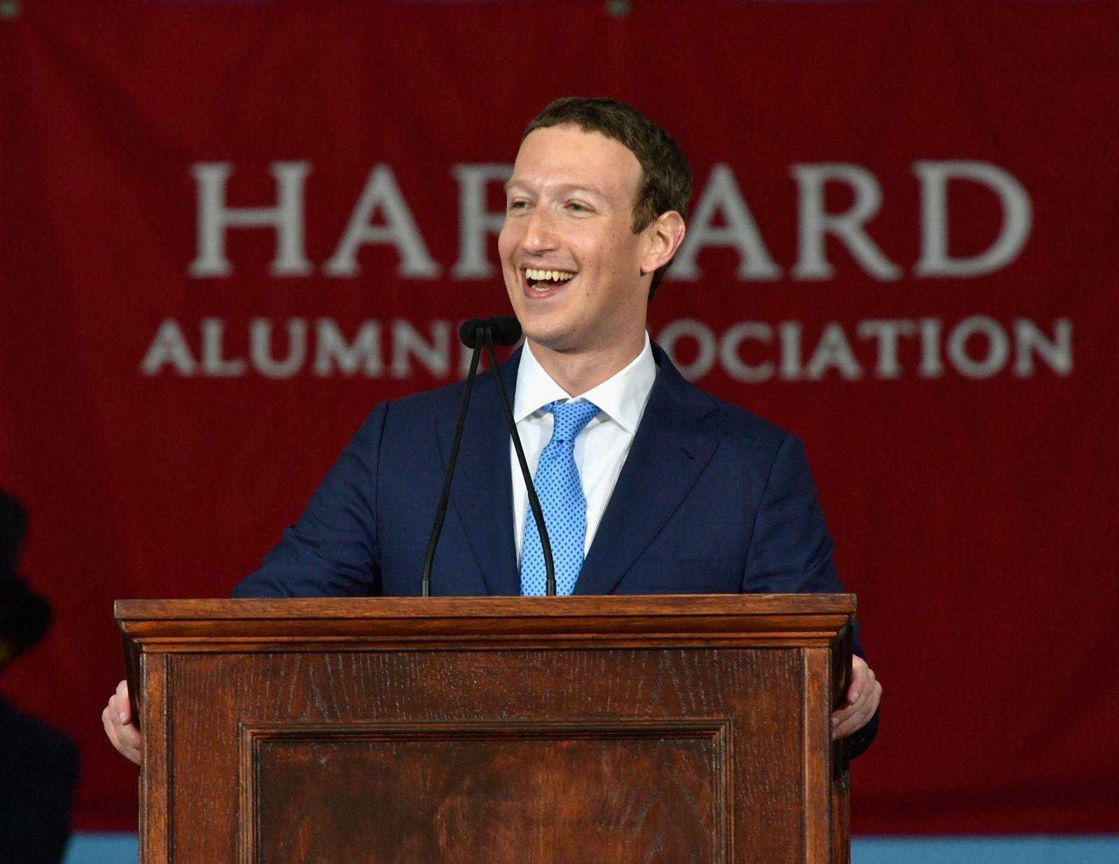 Zuckerberg/ Harvard