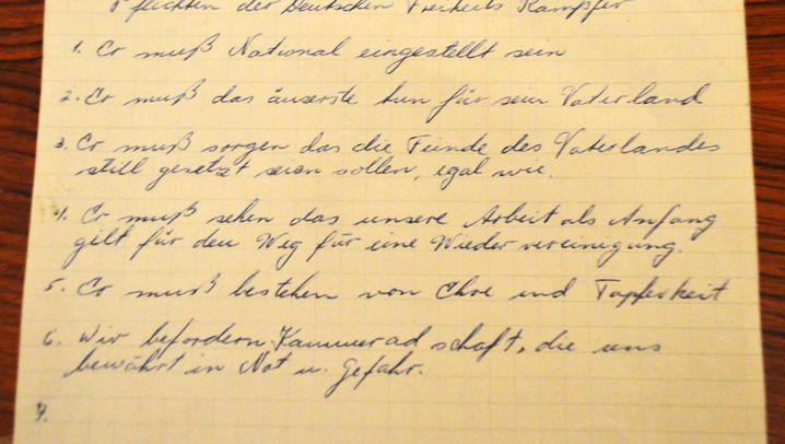 """Nazis im Ammerland: """"Das äuserste tun für sein Vaterland"""""""