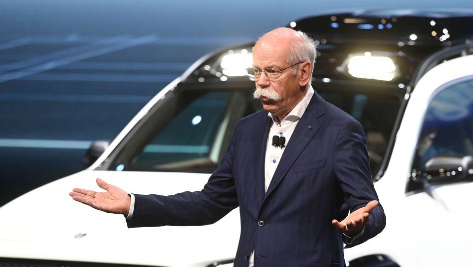 Daimler-Chef Dieter Zetsche auf der Shanghai Auto Show (Archiv)