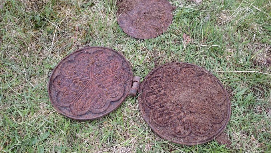Waffeleisen, keine Tellerminen (Archivbild)