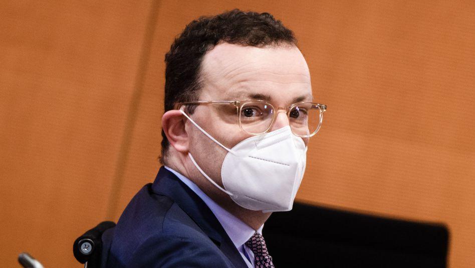 Gesundheitsminister Jens Spahn: »Wir haben genug, mehr als genug Impfstoff bestellt«
