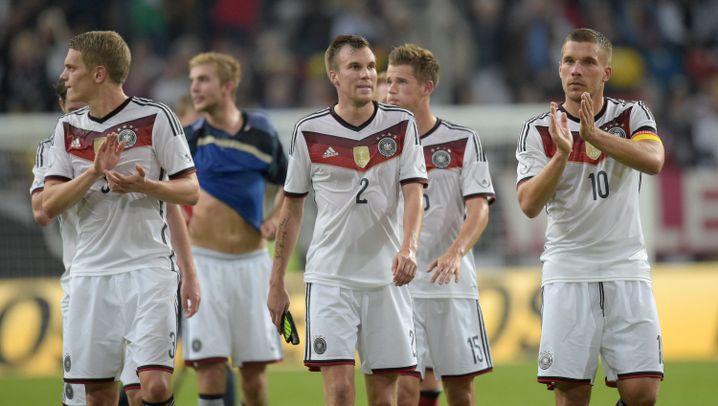 Deutschland gegen Argentinien: Dämpfer bei der Weltmeister-Party