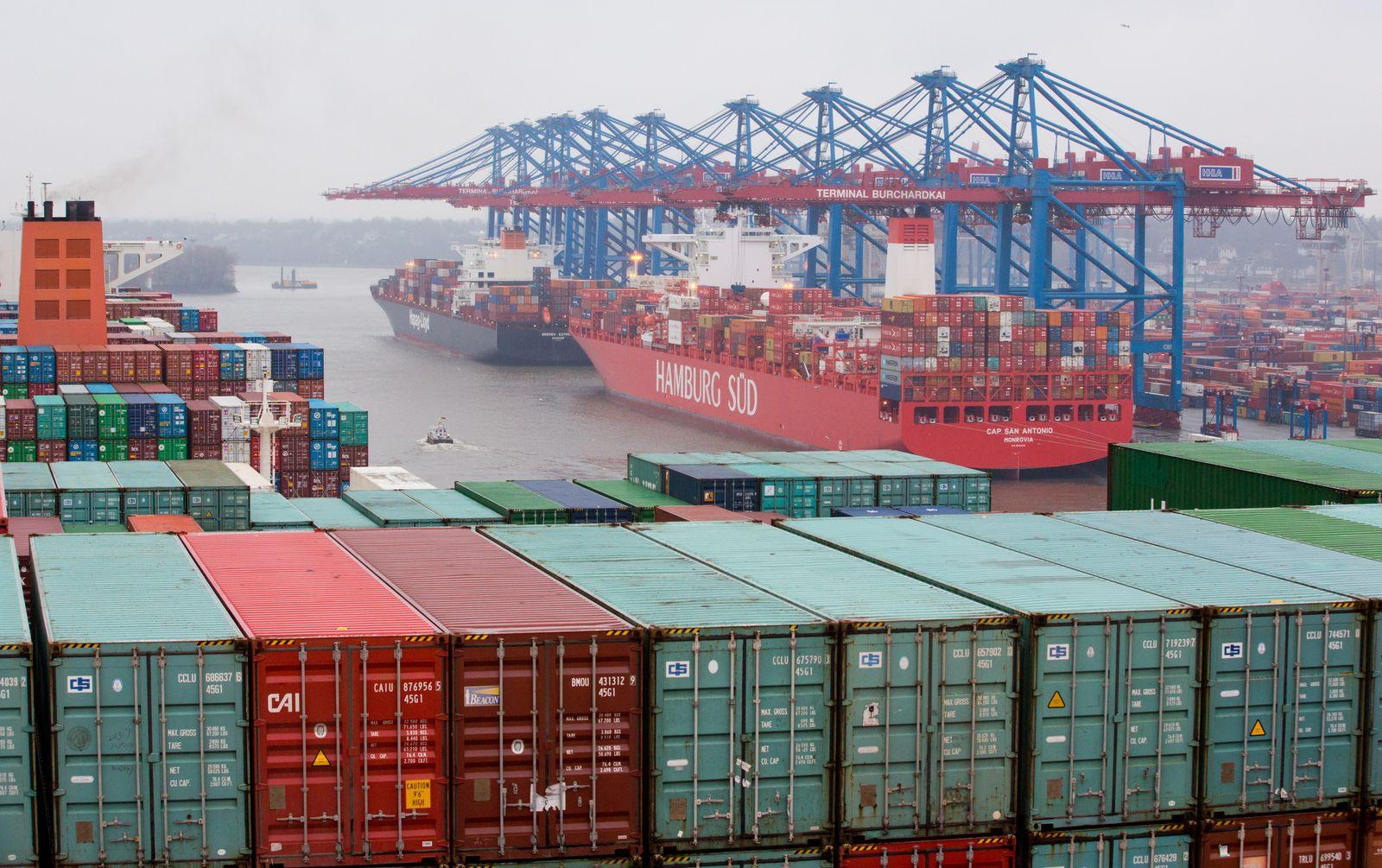 Containerterminal/ Hamburg/ Export