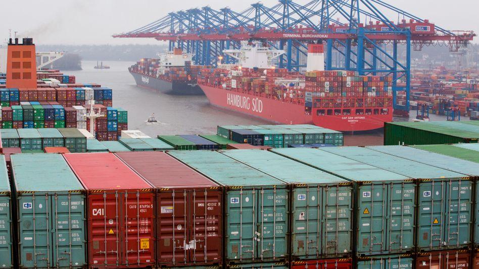 Läuft: Deutschland hat im vergangenen Jahr einen neuen Exportrekord erzielt