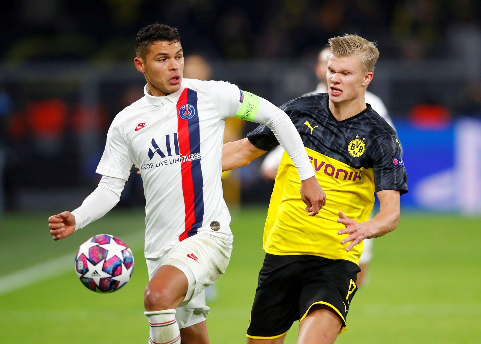 FILE PHOTO: Champions League - Round of 16 First Leg - Borussia Dortmund v Paris St Germain
