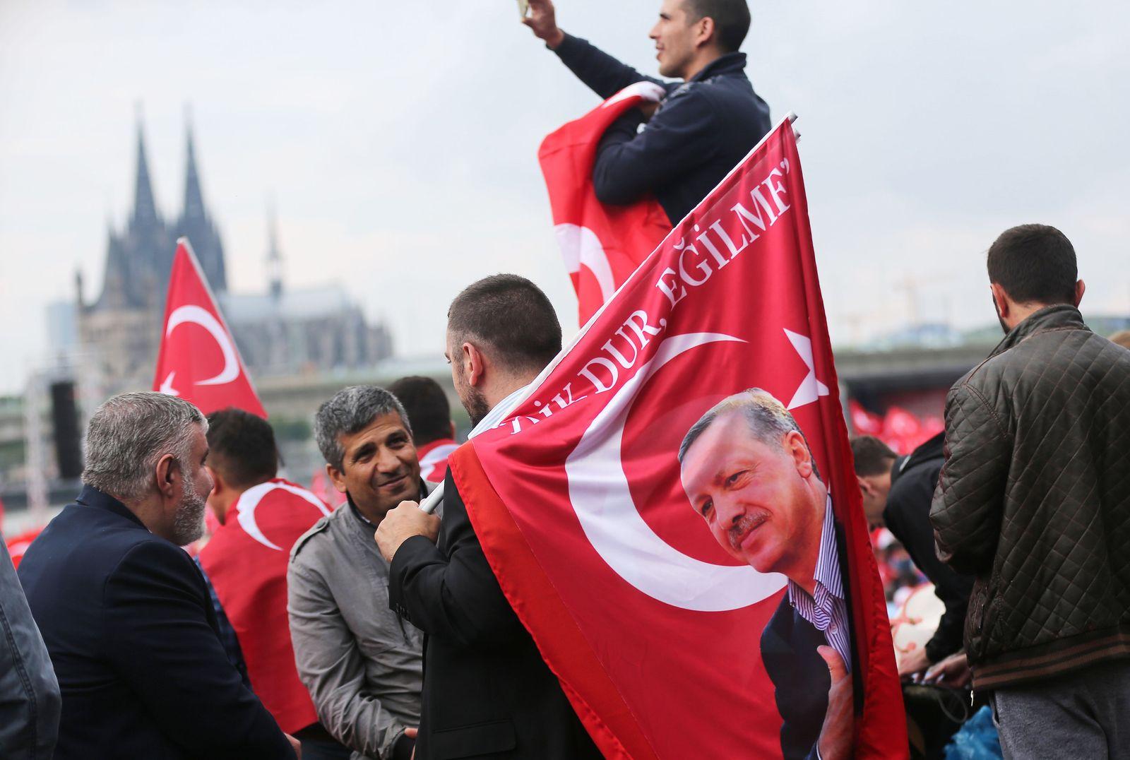 Erdogan / Demo / Köln