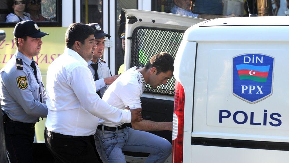 Kurz vor Beginn des ESC: 60 Festnahmen in Baku