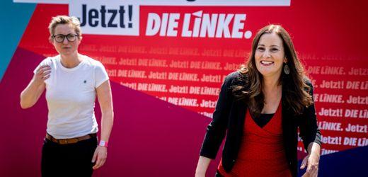 Parteitag der Linken: Wahlprogramm beschlossen - aber Konflikte bleiben